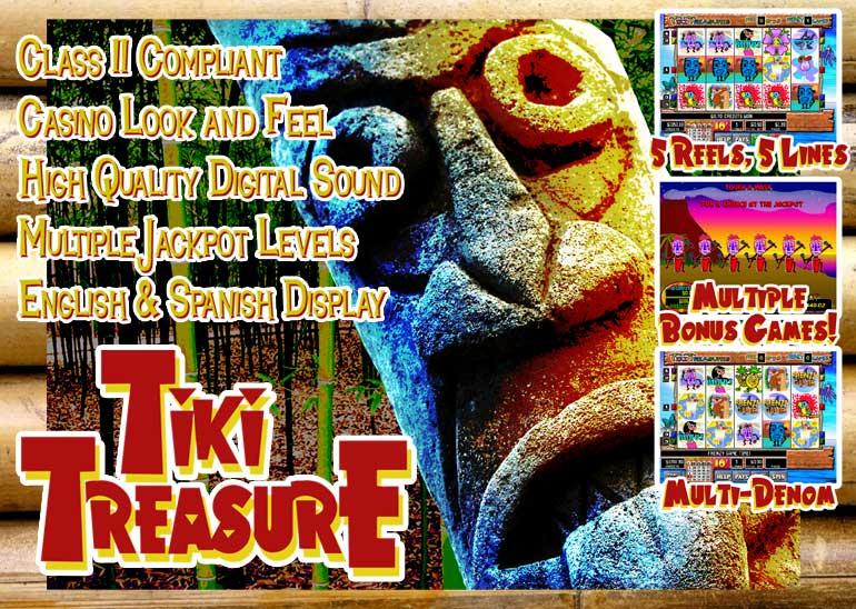 Tiki Treasure Game