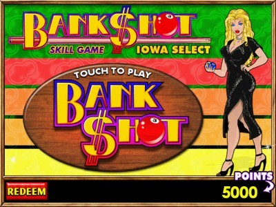 BankShot Title Screen